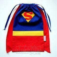 Resultado de imagen para molde bolsita dulces superman