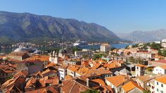 Kotor, Montenegro is one of the places that has a massive wow factor with an imposing mountain hanging right over the city on the Bay of Kotor. The highlight is a long steep walk to the top of the overhanging limestone cliffs of Orjen and Lovćen and the monastery atop