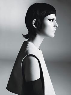 Stella Tennant in Starchitecture by Steven Meisel for W Magazine, March 2013