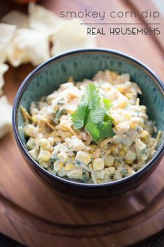 Smokey Corn Dip | Real Housemoms