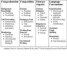 Comprehensive Literacy Components