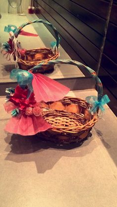 Multi Purpose Western Basket. Put in small gifts in this beautiful basket and it is ready to be gifted!!!