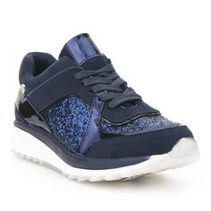 Zapatilla urbana glitter XTI Outlet, Sneakers, Shoes, Fashion, Spring Summer, Winter, Urban, Slippers, Women