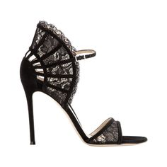 Gianvito Rossi suede and lace sandals, $1,245 mytheresa.com - Photo: Courtesy of mytheresa.com