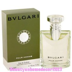 BVLGARI by Bvlgari 1.7 oz EDT Cologne Spray for Men New in Box #Bvlgari
