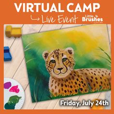 Paint, DANCE & Have Fun from the comfort of your own home with Pinot's Palette live and interactive Virtual Camp! Each week is a different theme. Pick up your supplies curbside, we can deliver or ship! 847-730-5972 for more details. #PaintandSip #PinotsPaletteGlenview #Glenviewil #ChicagoNorthShore #TheGlen #GirlsNight #Acrylic #CreateHomeFun #Craft #HomeDecor #pinotslive #pinotsvirtualevent #VirtualPaintingClasses