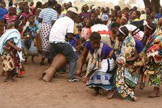 Getting down at the choda dance in Lake Malawi ©Nkwichi Lodge