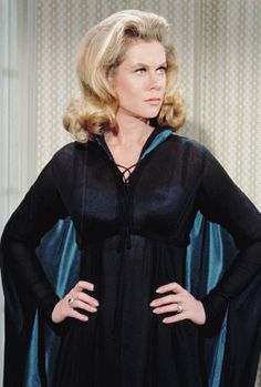 Elizabeth Montgomery in Bewitched, (1960s).