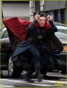 UPDATE: 'DOCTOR STRANGE' Set Photos Show Benedict Cumberbatch and Chiwetel Ejiofor in Costume!