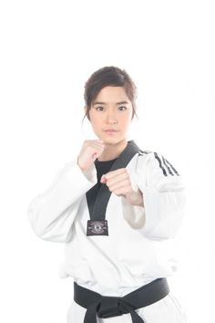 Jeeja Yanin is a 3rd Dan black belt in Taekwondo which has practicing since she was 11 years old. Her role in the movie Chocolate  had her have to incorporate some additional Martial Art moves, so she studies such as Muay Thai. Finest Hour: Chocolate...but I haven't seen Tom Yum Goong 2 yet...