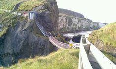 Carrick-a-Rede Rope Bridge in Ballintoy