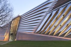 The Eli and Edythe Broad Art Museum by Zaha Hadid