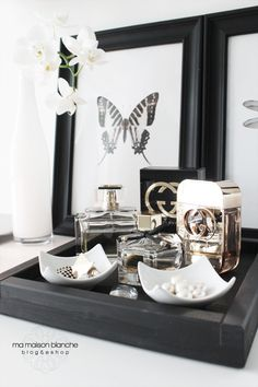 dressing table trays for gorgeous girlie goodies ma maison blanche
