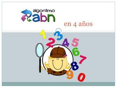 Metodología ABN con 4 años. I Love Math, Montessori Activities, Math Class, Maths, Math For Kids, Interactive Notebooks, Mathematics, Back To School, Teacher
