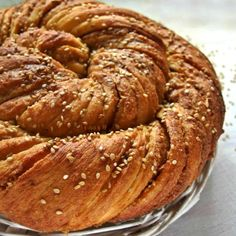 Greek Sweets, Greek Desserts, Greek Recipes, Chocolate Sweets, Bread Cake, Easter Treats, Sweet Tooth, Food And Drink, Pie