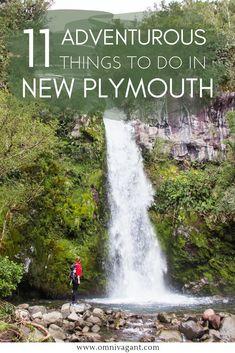 11 Adventurous Things to do in Taranaki & New Plymouth – Honeymoon New Zealand Itinerary, New Zealand Travel, New Plymouth New Zealand, North Island New Zealand, Adventurous Things To Do, Weekend Trips, Travel Guides, Travel List, Adventure Travel