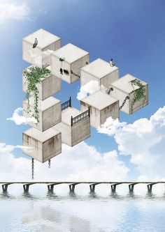 Impossible Society by Daniel Reuber, via Behance