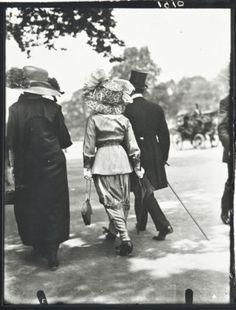 Jacques Henri Lartigue (1894-1986)Avenue du Bois, Paris, May 1911