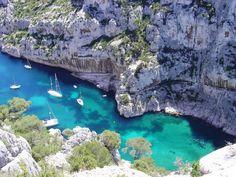 Blue Inlet, Marseille, France.