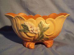 Vintage Matte Glazed WELLER Art Pottery PLANTER VASE