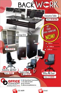 Office Concept - BACK TO WORK. Info: 233 4699