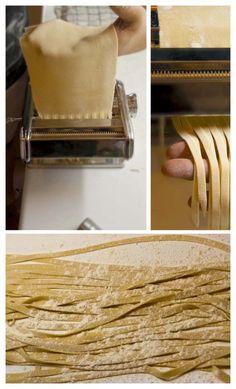 macchina per fare la pasta fresca - TAGLIATELLE