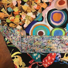 Soies imprimées #tissu #fabric #soie # silk #mode #fashion #paris #sacrescoupons #handmade