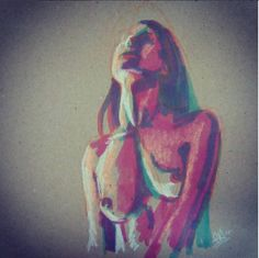 evabitesEnamorada de las anilinas #sketch_daily #quicksketch #nude #livedrawing #watercolor #watercolour #painting #boceto #dibujodelnatural #acuarela #model #desnudo #femenino #female #lights #shadows #colorful #luces #sombras #color #beautiful