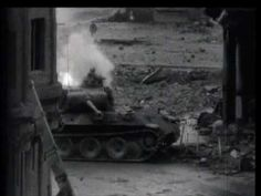 "The ""Graphic Video"" showing a Panther Ausf G destroying a American M4 Sherman then being destroyed itself by a M26 Pershing with it's powereful 90mm M3 gun"