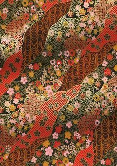 Papier Washi japonais Yuzen Chiyogami conception par CraftyPaperOz