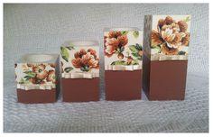 Zestaw świeczników - zdobione metodą decoupage :)  więcej na mojej stronie na fb (DecoupageGallery) zapraszam! :)