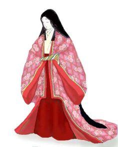 AD794->AD1185-Japan貴族の装束・平安時代