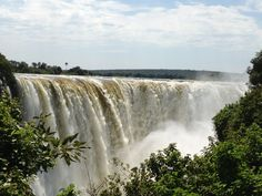Victoria Falls is the most beautiful water fall in the world and it welcomes you with open arms
