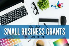 Top Small Business Grants for Women Business loans are always available, but if you prefer not to take on any additional debt, you may want to look into grants. Here are the top small business grants for women. Business Grants, Small Business Resources, Business Funding, Business Women, Online Business, Business Marketing, Business Opportunities, Business Logo, Small Business Start Up
