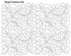 AnneBright.com - Shop | Category: Digitized Designs | Product: Simple Feathers b2b