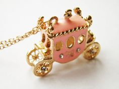 This delightful carriage necklace. | 34 Charming Accessories All Fairy Tale Lovers Need