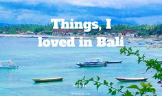 Bali is lovely and there are at least 9 reasons to visit Bali. If you want to find out why Bali is worth a visit check out this post.