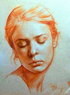 Human Figure Sketches, Figure Sketching, Figure Drawing, Portrait Sketches, Portrait Art, Art Sketches, Pastel Portraits, Watercolor Portraits, Figure Painting