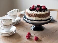 Oreokake - Kvardagsmat Cheesecake, Desserts, Food, Tailgate Desserts, Deserts, Cheesecakes, Essen, Postres, Meals