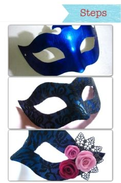 Trash to Treasure DIY: How to make a masquerade mask | Beadlady Manila