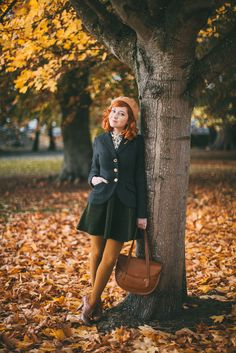Outfit: A Stroll Through Autumn Leaves | A Clothes Horse | Bloglovin'