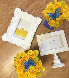 Yellow and Blue theme for Calemarie's 1st Birthday
