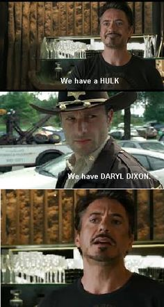 We have Daryl