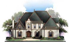 House Plan 72209 | European   Greek Revival    Plan with 3143 Sq. Ft., 4 Bedrooms, 3 Bathrooms, 3 Car Garage