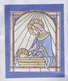 xmas cards nativity silhouette | Card by Sandy Fredrick of Howell, MI