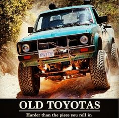 Old toyota's