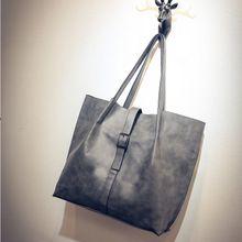 Túi xách tay nữ thuần màu, thiết kế trẻ trung, phong cách Hàn Quốc