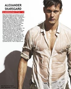 Pretty Men, Gorgeous Men, Beautiful People, Big Little Lies Cast, Alex Pics, Alexander Skarsgård, True Blood, 6 Years, Mens Fitness