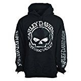 H-D Men's Hooded Pullover Sweatshirt - Handmade Willie | Overseas Tour XL                                          Product DescriptionOverseas Tour Pullover Hoodie - Men's. Exclusive military-designed sweatshirt honoring the sacrifice and dedication of those who have served our country. Black.