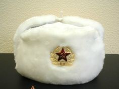 0103efdec8ea8 Hat Russian Soviet Army Special Winter Fur Military Ushanka   WH   Size M   27.00 Buy